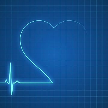 pulse-trace-with-heart-shape-loopable-video-id485258672